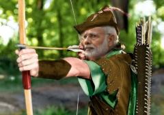 india,demonetisation,robin hood,modi,prime minister
