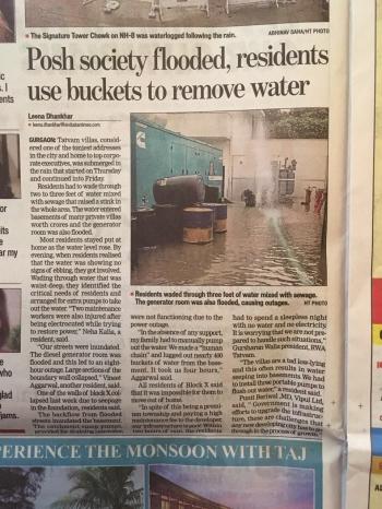 Inde,Gurgaon,heat,summer,rains,monsoon,mosquitoes