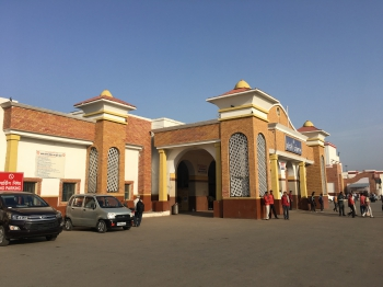 India,Uttar Pradesh,Bareilly,train,train station