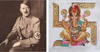 india,swastika,sauvastika,hitler,racism,anti-semitism,wandervogel,mein kampf,flag,germany,napoleon,first world war,second world war,free india government,chandra bose,german federal empire,hakenkreuze,indo-european,aryan,jews,symbol