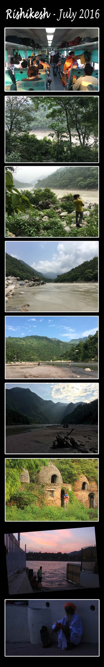 India,Rishikesh,Ganges,monsoon,beatles