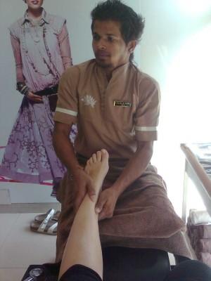 india,pedicure